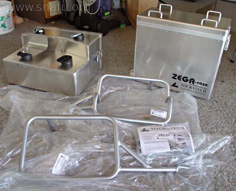 R1200gs Touratech Zega Panniers